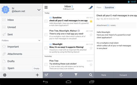 email application for android solmail all in one email app android apps on play