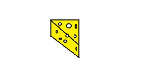 how to draw how to draw a cheese slice hellokids com
