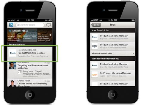 Mobile Linkedin Engaging Passive Candidates On The Go With In