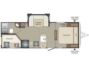 Bullet Travel Trailer Floor Plans by 2015 Bullet 243bhs Floor Plan Travel Trailer Keystone Rv