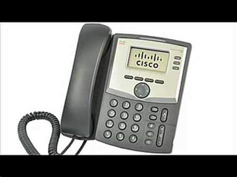 cisco spa 303 desk phone cisco spa 303 3 line ip phone youtube