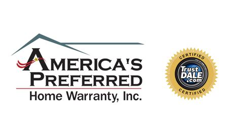 america s preferred home warranty receives trustdale