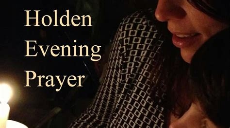 holden evening prayer service