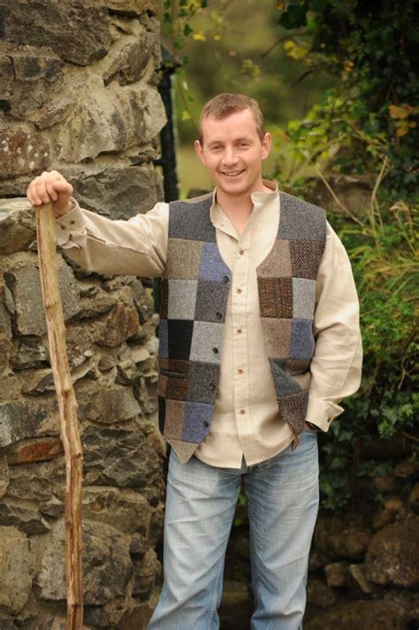 Patchwork Waistcoat - glengesh patchwork tweedback waistcoat