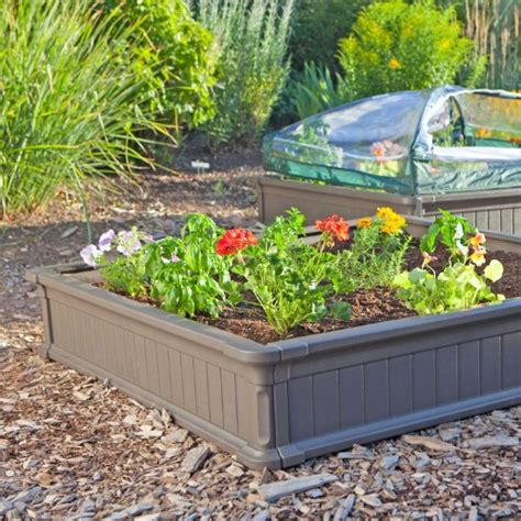 lifetime raised garden bed lifetime products 60065 raised garden bed 1 bed