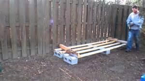 holzscheit regal log rack build