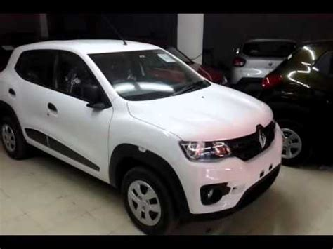 renault kwid white colour renault kwid cool white