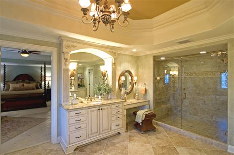 custom master bathrooms custom master baths by drawn by studer residential designs