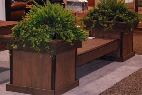 Deck Planter Bench by Wooden Decks Build A Deck Bench With Planter Boxes