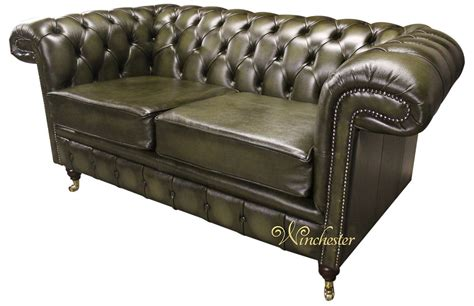green leather chesterfield sofa green leather chesterfield