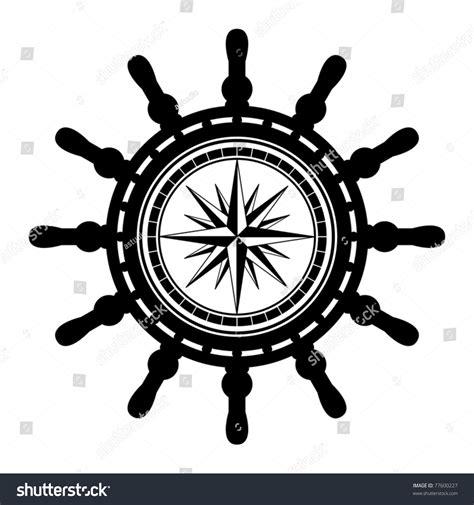 boat steering wheel free vector ship steering wheel abstract vector illustration stock