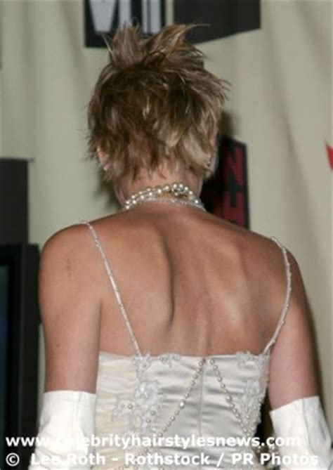 sharon stone hairstyles front and back views sharon stone hairstyles front and back views short
