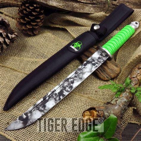 Pedang Tanto Japan Sword z japanese tanto knife skull blade green handle katana style