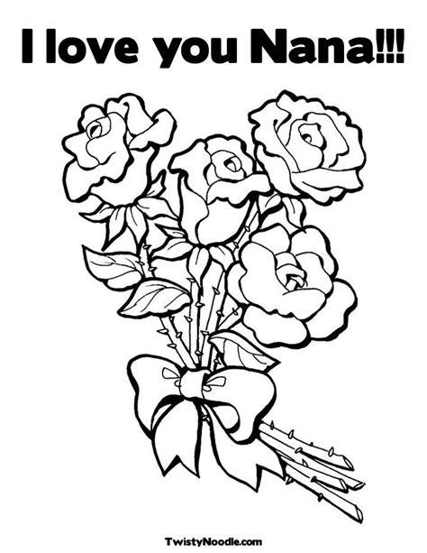 I Love You Nana Coloring Pages | moreha tekor akhe i love you nana poems