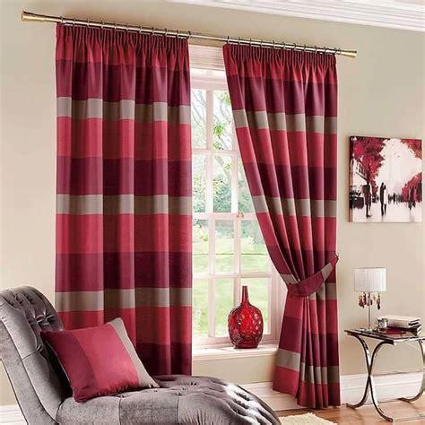 gambar kain langsi idea langsir terkini moden dengan warna merah langsir