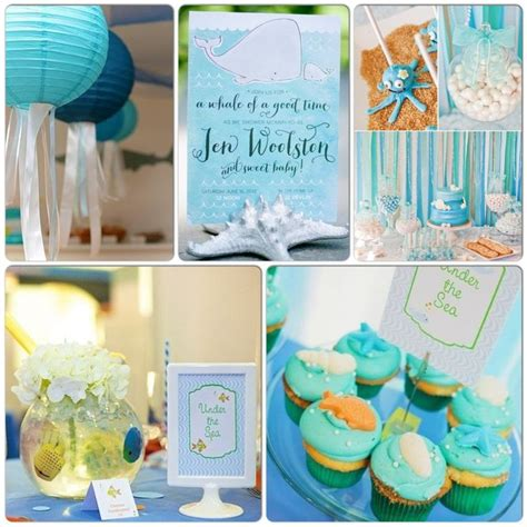 Baby Shower The Sea Theme by 1000 Images About The Sea Baby Shower Ideas On