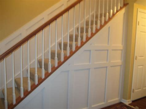 wainscoting stairs stair wainscoting home decor inspiration