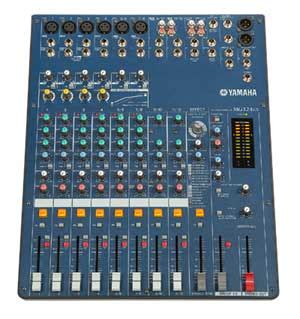 Mixer Yamaha Mg124cx yamaha mg12 4 12 channel mixing desk free data sheet by