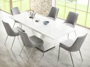 Schreibtische Ebay by Essgruppe Tischgruppe Tisch Wei 223 Hochglanz 6x