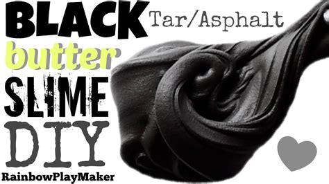 I Clay Slime Black 100cc diy black butter slime recipe glitter clay tar