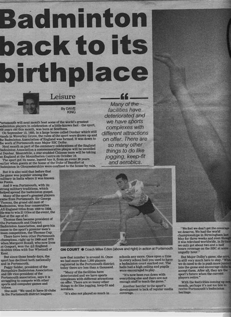 brief history of badminton 1000 images about badminton on