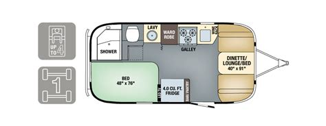 airstream travel trailer floor plans floorplan bahama travel trailer airstream