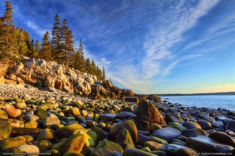 Acadia National Park   Sunrise at Schoodic Peninsula   Boulders