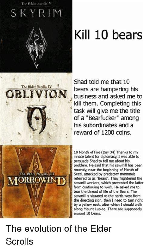 Elder Scrolls Memes - 25 best memes about elder scrolls morrowind elder