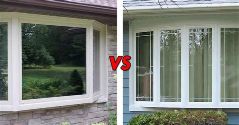 bow window styles bay windows vs bow what s the difference