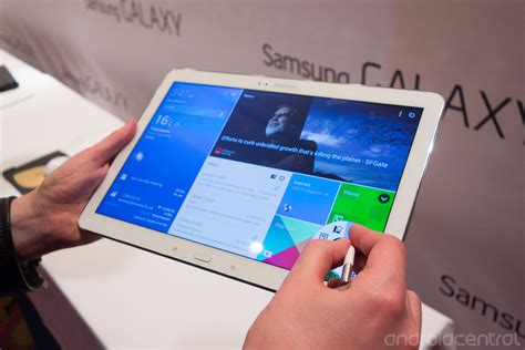 Samsung Galaxy Tab Note 4 on with samsung s galaxy tab pro and galaxy note pro tablets android central