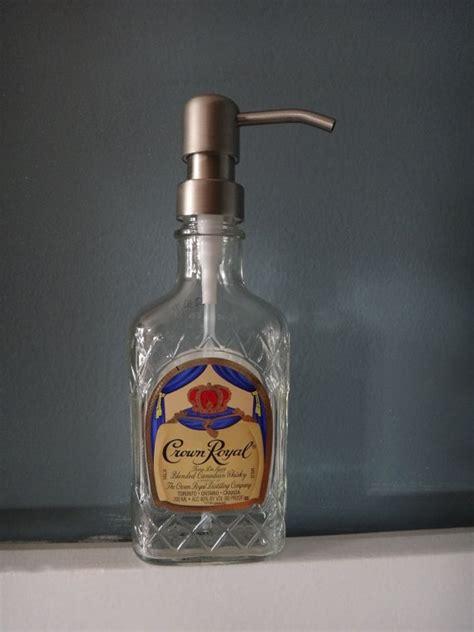 Dispenser Royal crown royal soap sanitizer or lotion dispenser bottle