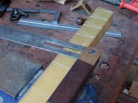Below I Shall Demonstrate How I Make Dovetail Markers