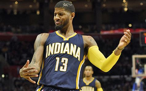 fashion for paul george part in hair nba quarterly report pacers heat coming up aces in the
