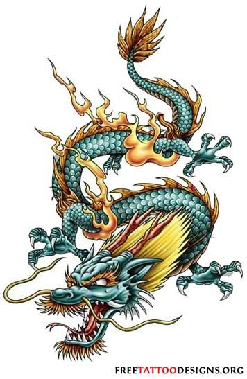 traditional dragon tattoo designs tattoos