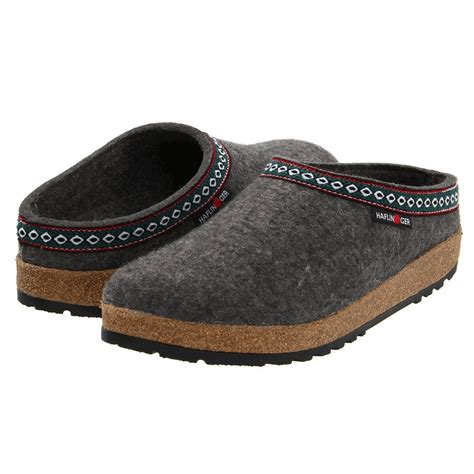 wool clogs for haflinger classic wool felt grizzly gz clogs fontana sports