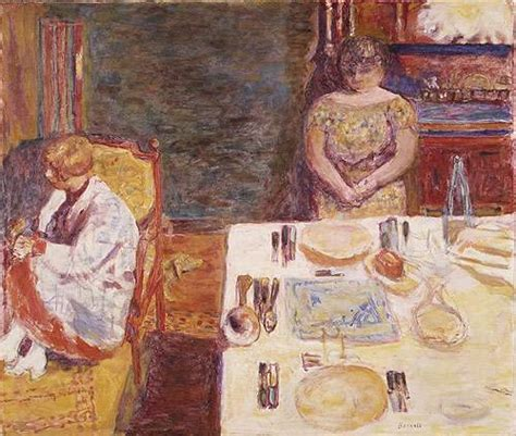 the dining room in the country bonnard peintre bonnard