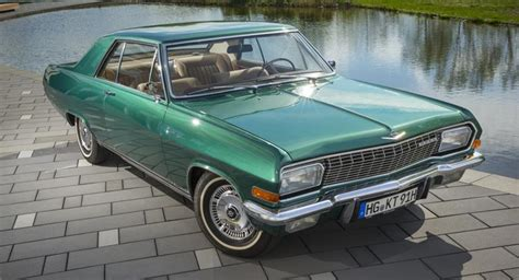 Classic Opel Cars by Opel Enters Classic Event With His Own Diplomat A V8
