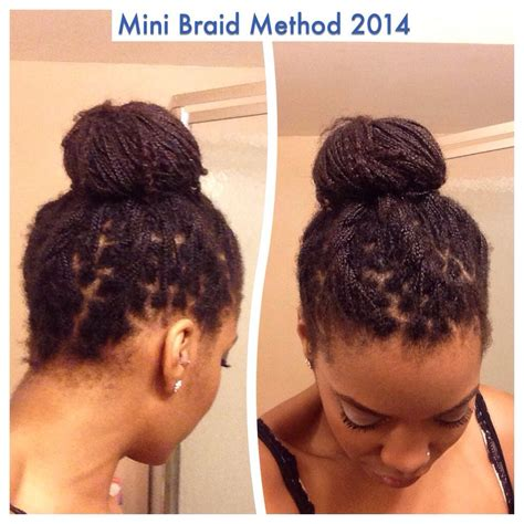 the mini braid method last day for mini twists short hairstyle 2013