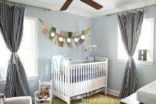 Baby Boy Nursery Curtains Ten June Baby Boy Nursery Source List