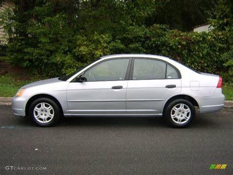 Honda Civic 2001 by 2001 Satin Silver Metallic Honda Civic Lx Sedan 6026106