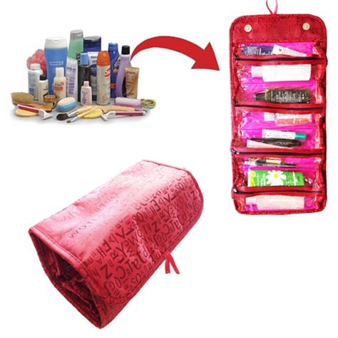 Roll And Go Bag Cosmetik roll n go travel cosmetic bag black or my make up brush set us