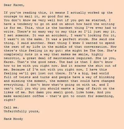Hank S Letter To hanks letter to