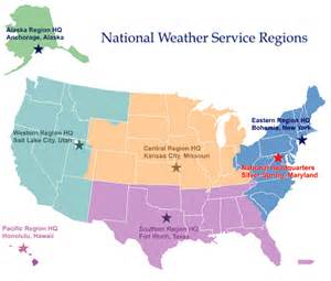us map of weather warnings regional headquarters