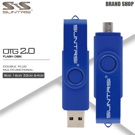 Sale Flashdisk Otg Samsung 64gb suntrsi usb flash drive 64gb high speed otg pendrive usb stick usb flash drive otg real capacity