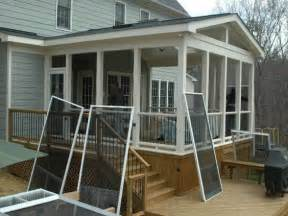 Screen Porch Plans Do It Yourself Porch Ideas Porches And Porch Designs On