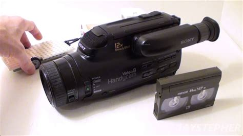 Vide8 Camcorder | a first look at a sony video 8 camcorder from 1994 ccd