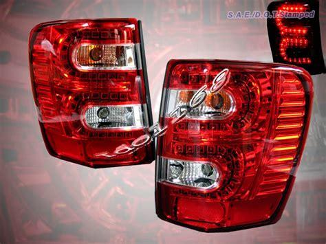 2000 jeep grand light 99 04 jeep grand led lights pair 1999
