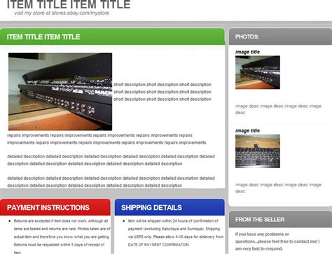 free ebay website template free psd at freepsd cc gt gt 22