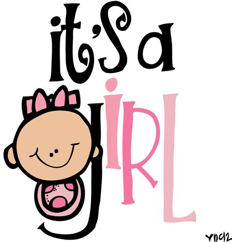 It S | it s a girl clipart images clipartxtras