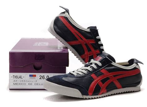 Onitsuka Tiger Mexico 66 Deluxe Navy List White onitsuka tiger mexico 66 deluxe navy shoes as 00687 96 20 asics running shoes asics
